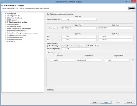 how to recover fast from c section deploying recoverpoint part 3 deployment manager