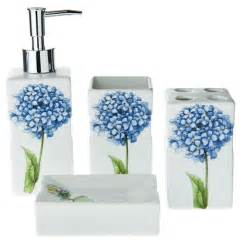 the best hydrangea bathroom accessories homekeep xyz