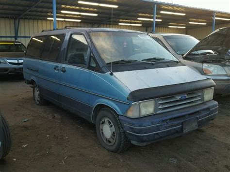 blue book value used cars 1987 ford aerostar instrument cluster auto auction ended on vin 1fmda31xxpzb08770 1993 ford aerostar in co colorado springs
