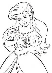 walt disney coloring pages princess ariel walt disney characters photo 37121247 fanpop