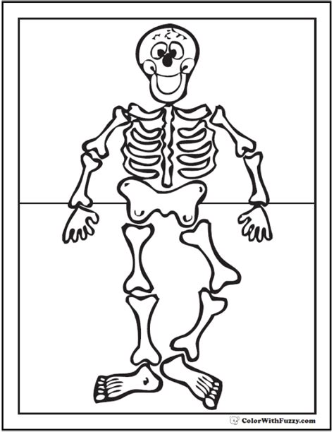human skeleton coloring page human skeleton worksheet
