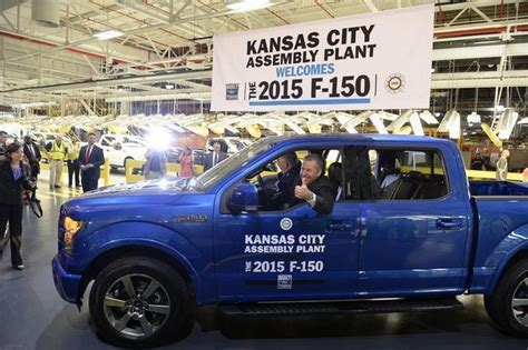 Claycomo Ford Plant by Ford Begins F 150 Production At Claycomo The Kansas City