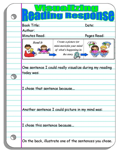 Scholastic Worksheets by Reading Response Forms And Graphic Organizers Scholastic