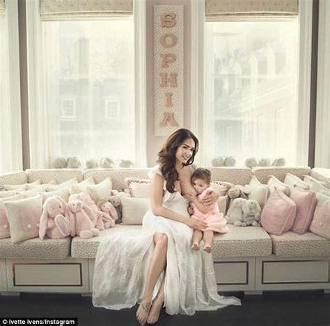 tamara ecclestone shares family snaps of baby daughter tamara ecclestone breastfeeds daughter sophia in new shot