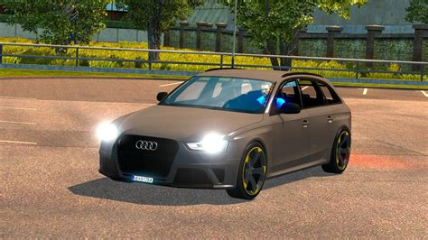 audi rs4 mods audi rs4 updated ets 2 mods truck simulator 2