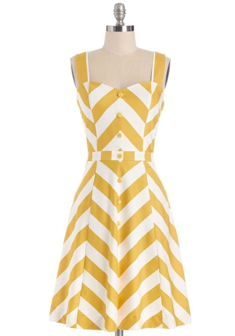 Dress Atta by Atta Twirl Dress Modcloth Dreaming Of Yellow