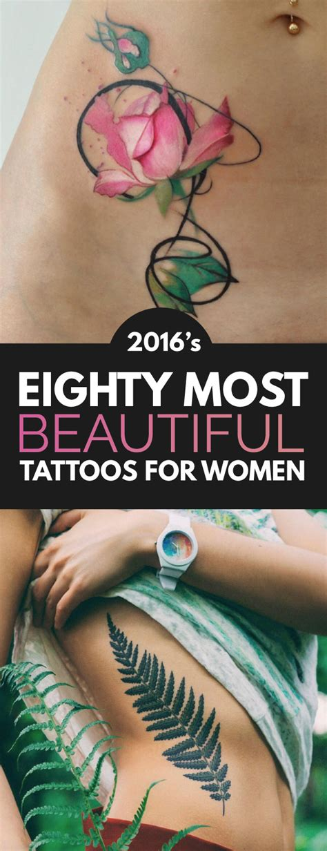 beautiful tattoos for women 2016 s 80 most beautiful designs for