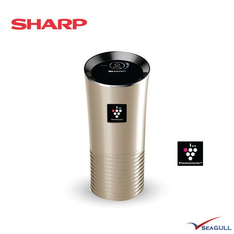 Sharp Plasmacluster Air Purifier Mobil sharp car ion generator plasmacluster iggc2ln gold with