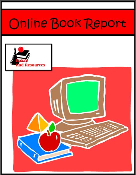 how to type a book report a new type of book report from raki s rad resources