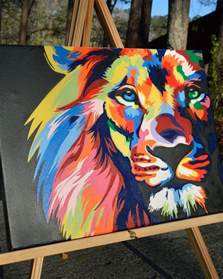 25 best ideas about lion painting on pinterest lion art