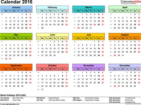 calendar 2015 uk with bank holidays excel pdf word templates