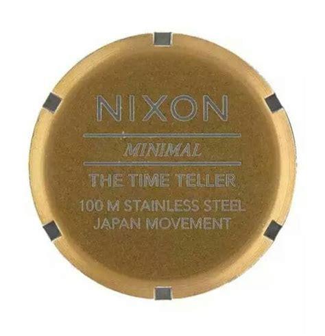 Jam Tangan Nixon Brown Leather jual jam tangan nixon time teller brass green