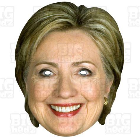 photos of hillary clinton s life and political career hillary clinton life size celebrity face mask us