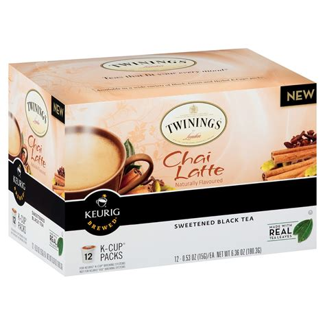 Twinings Chai Latte K Cups   12 count