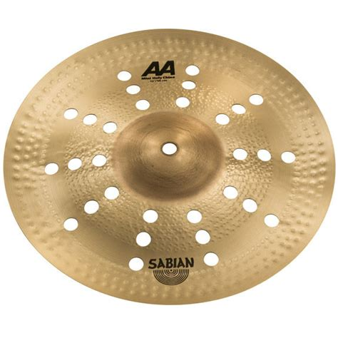 Sabian Aa Holy China 21 Cymbal sabian 12 quot aa mini holy china splash cymbal splash cymbals steve weiss