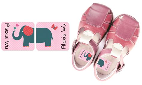 shoe labels for personalized preschool shoe labels that help tell right