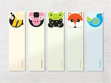 printable animal bookmarks animals bookmark set izzybizzy me