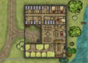 Free Floor Plan Generator midway inn battlemap fantasy map maker