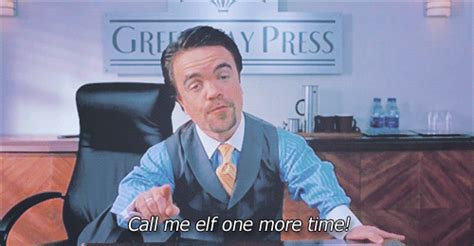 Angry Elf Meme - miles finch elf quotes