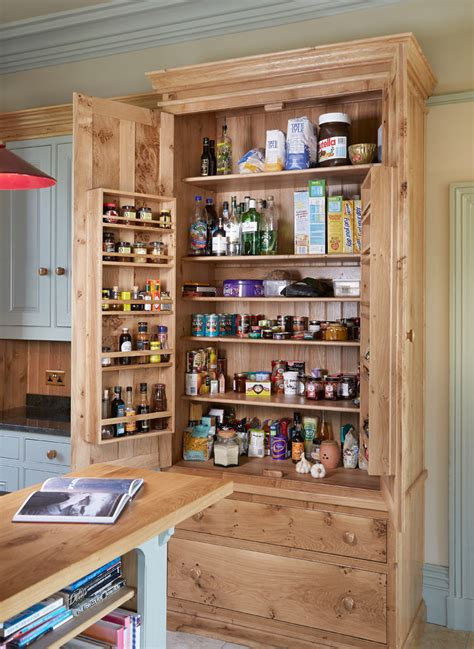 sumptuous freestanding pantry  kitchen traditional