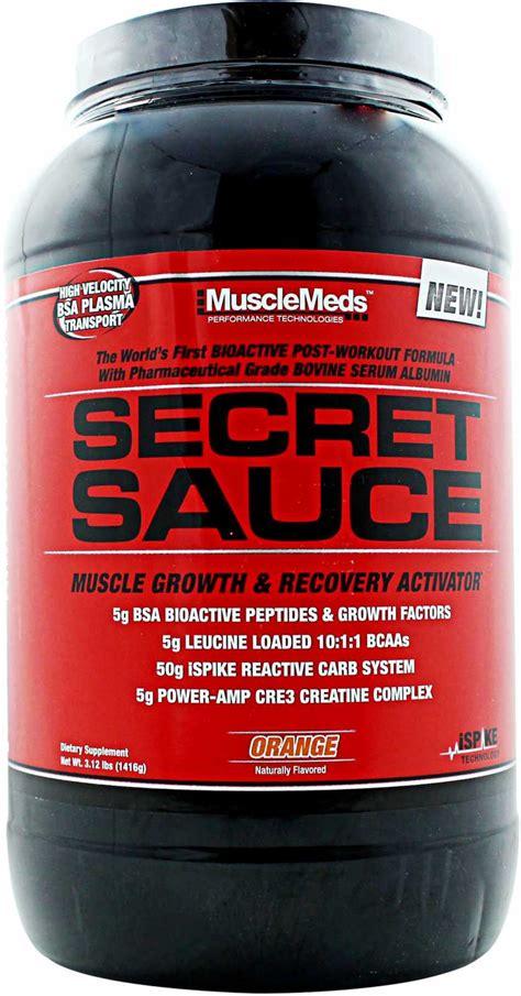 secret sauce secret sauce musclemeds
