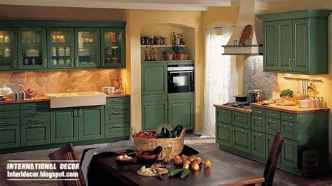 Green Country Kitchen Green Country Style Kitchens Www Pixshark Images Galleries With A Bite