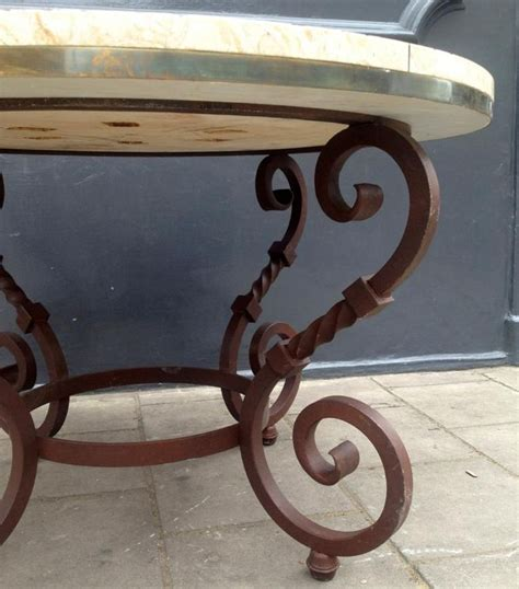 wrought iron table legs 1000 ideas about wrought iron table legs on