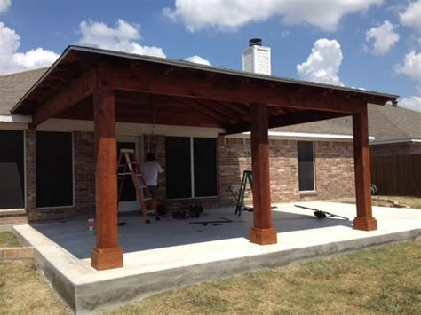 cedar patio cover attached cedar covered porch pergolas arbors covered patio porches and covered