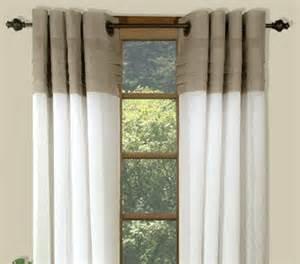 2 Tone Curtains Curtain Bath Outlet Geneva Two Tone Grommet Curtain Panel