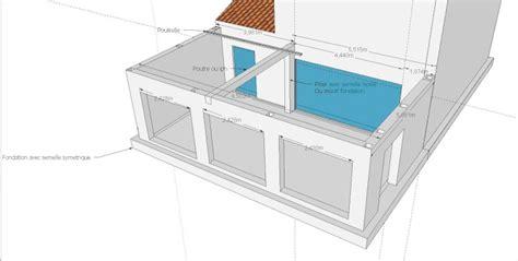 Extension Terrasse Beton by Agrandissement Maison Par Annexe Toit Plat Bois Ou Beton
