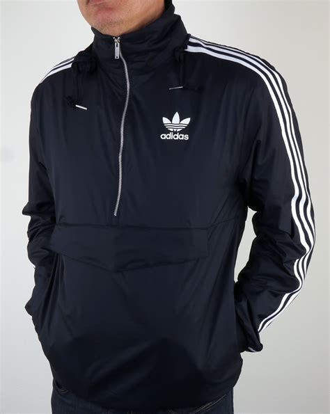 Jaket Outware Navy Original adidas originals mdn windbreaker navy jacket lightweight mens