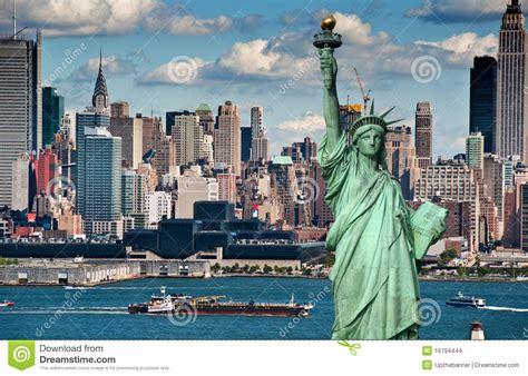 imagenes libres nueva york horizonte de new york city del concepto del turismo