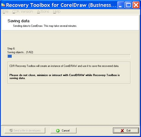 corel draw pdf the file is corrupted recovery toolbox releases a program that knows how to