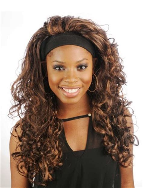 african american wigs with headbands attached wigs with attached hair band wigs by unique