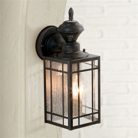 portfolio gfci 15 75 in h black outdoor wall light outdoor light get into focus goodworksfurniture