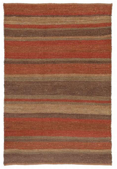 Cayona Flat Tali Stripe classic home striped soumak jute creek rug 100