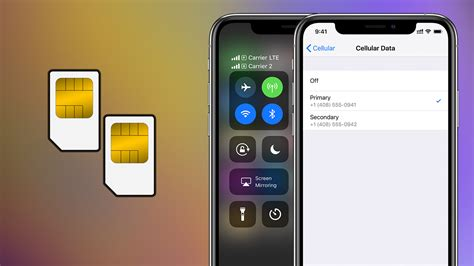 how to use dual sim on iphone xs and xs max
