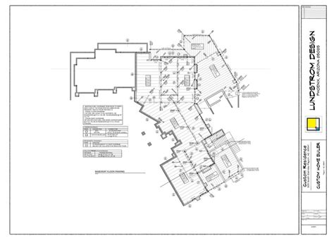 architectural drafting design service custom home plans stock plans lundstrom design custom home drawing 5