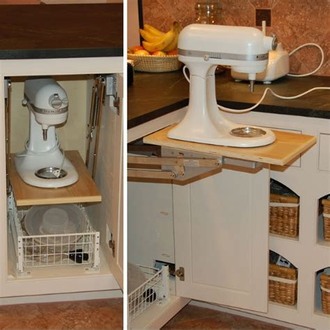 Kitchenaid Mixer Storage Storing A Stand Mixer 4 Ways