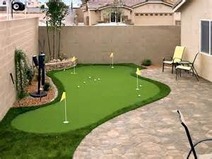 a putting green in backyard 11 of the best xeriscape ideas page 11