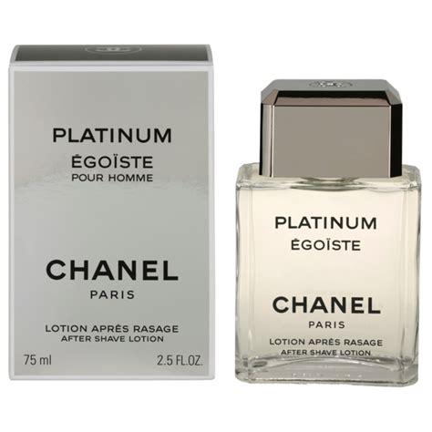 Parfum Chanel Platinum Egoiste chanel egoiste platinum lotion apr 232 s rasage pour homme 75