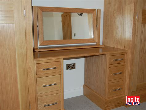 Made To Measure Bedroom Furniture Handmade Bespoke Oak Combination Wardrobe By Incite Derby