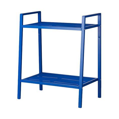 Produk Ikea Furniture jual ikea lerberg unit rak 2 susun biru 60 cm
