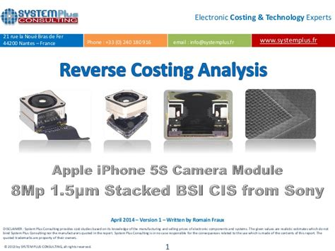 apple iphone production process apple iphone 5s camera module 8mpixel 1 5 181 m stacked bsi
