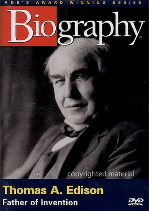 Edison Biography Movie | biography thomas edison father of invention dvd 1995