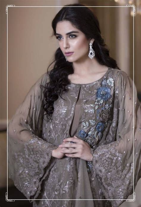Formal Garden Party - maria b latest luxury dresses embroidered collection 2016 2017