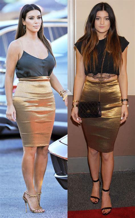 Time kylie jenner has dressed exactly like kim kardashian e news