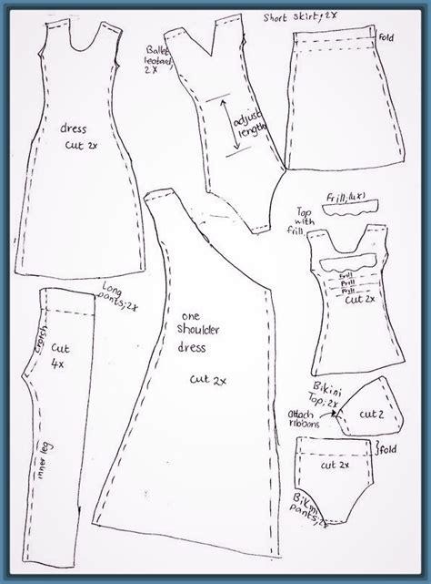 moldes gratis de faldas para imprimir moldes de ropa y imagenes de moldes de ropa para barbies archivos fotos