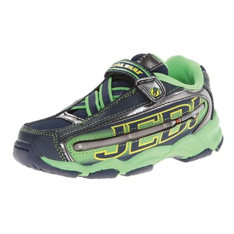 wars shoes stride rite wars jedi lightsaber sneaker toddler
