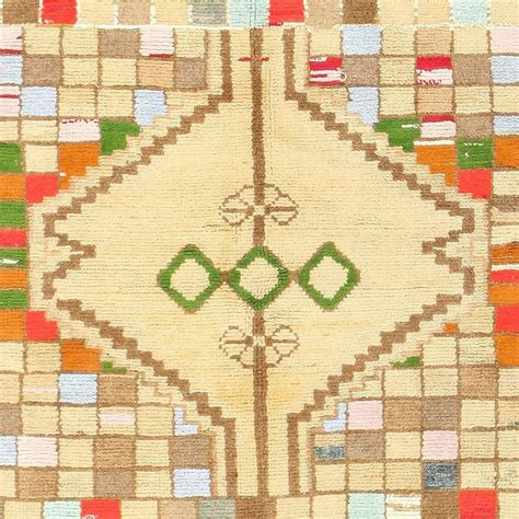 whimsical rugs whimsical tribal gabbeh rug for sale at 1stdibs